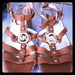 Michael Kors wedge sandels